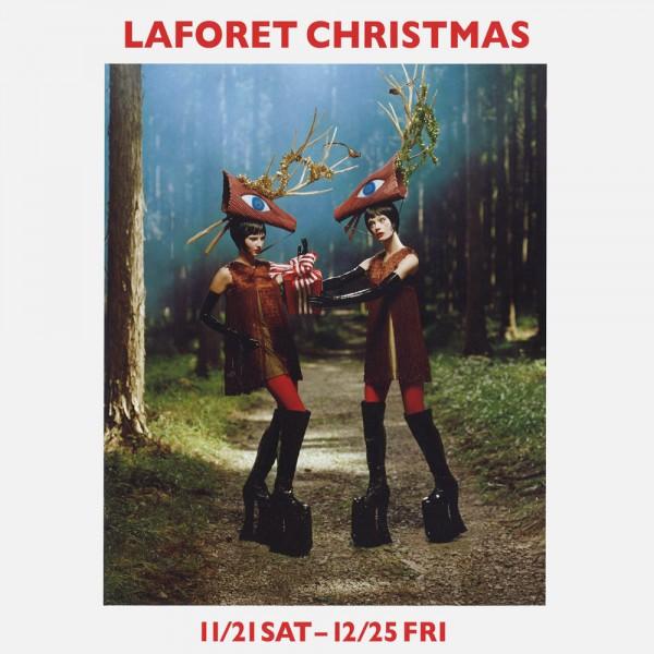 """ラフォーレ原宿のフリーペーパー""""LAFORET CHRISTMAS"""" に PARADOX × LEGENDA のアクセサリーが掲載されました。"""