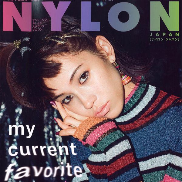 """雑誌""""NYLON JAPAN 1月号""""  にてMUZE の商品が掲載されました。"""