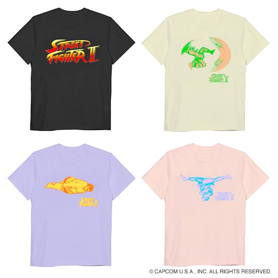 GYFT新入荷情報【terasolar】ストリートファイターⅡ Tシャツ