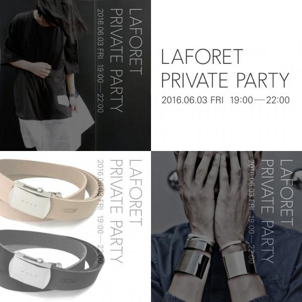 6/2(Thu) : 2016.06.03.FRI 【LAFORET PRIVATE PARTY】 19:00-22:00
