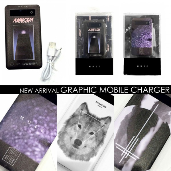 8/18(Thu):NEW ARRIVAL / GRAPHIC MOBILE CHARGER
