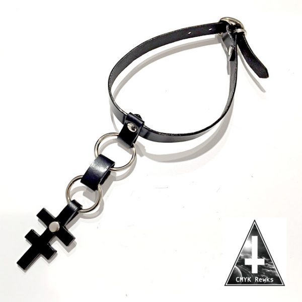 GYFT NEW ARRIVAL【CMYK Rewks】LEATHER CHOKER