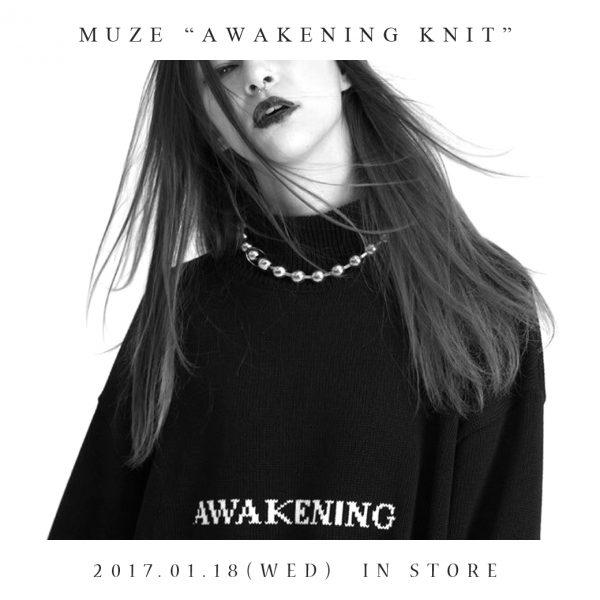 """""""MUZE"""" – AWAKENING  KNIT"""