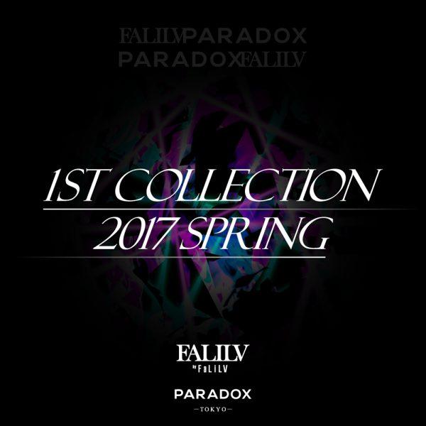 PARADOX × FALILV by FaLiLV コラボアイテムリリース決定