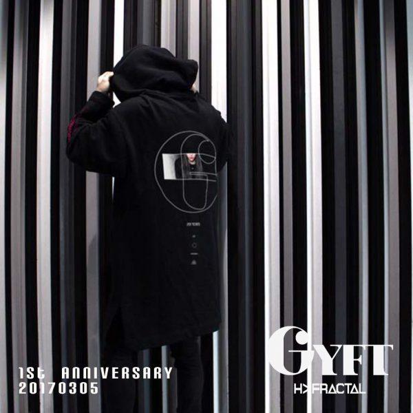 GYFT限定アイテム【MUZE】OVER HOODIE COAT(GYFT 1st Anniversary)