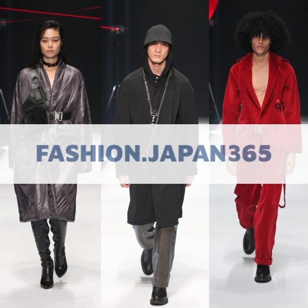 """FASHION.JAPAN365"" にてMUSEUM by H>FRACTAL2017年秋冬のランウェイショーが掲載されました。"