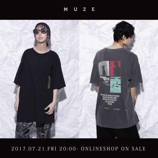 MUZE – T-SHIRTS (DYSTOPIA/HORSE) RE-STOCK!!!