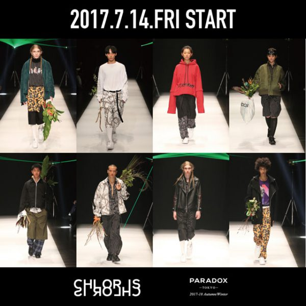 "coming soon…【PARADOX】 2017 Autumn/Winer Collection""CHLORIS"""