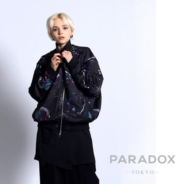 NEW ARRIVAL【PARADOX】GRAPHIC BLOUSON