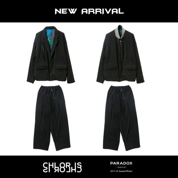 11/23(Thu):NEW ARRIVAL / 【PARADOX】TAILORED BLOUSON&EASY PANTS
