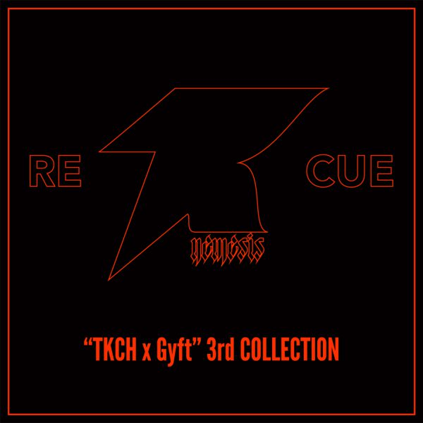 2017.12.03(SUN)11:00~店頭先行販売開始!!!【TKCH×GYFT by H>FRACTAL】3rd COLLECTION