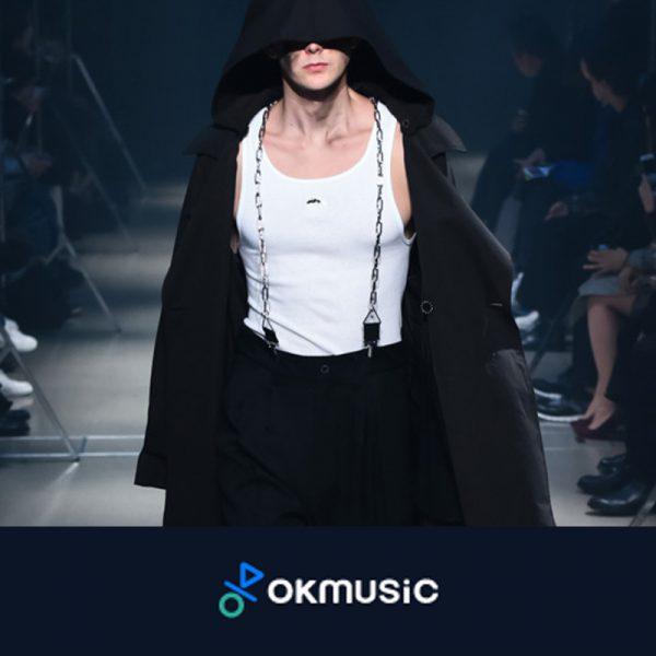 """""""OKMUSIC""""にMUZEの2018春夏コレクションが掲載されました。"""