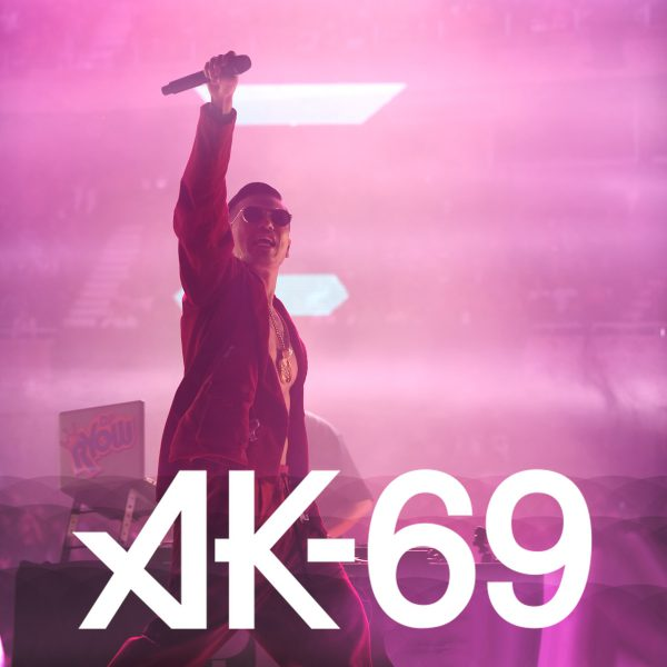 """""""AK-69 """"武道館ライブにて弊社アパレルブランド """"MUZE"""" が衣装提供を行いました。"""