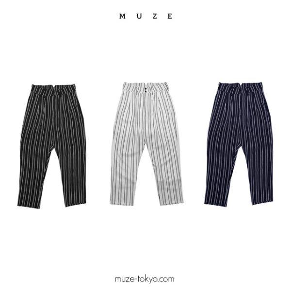 1/4(Thu):NEW ARRIVAL 【MUZE】STRIPE SLACKS
